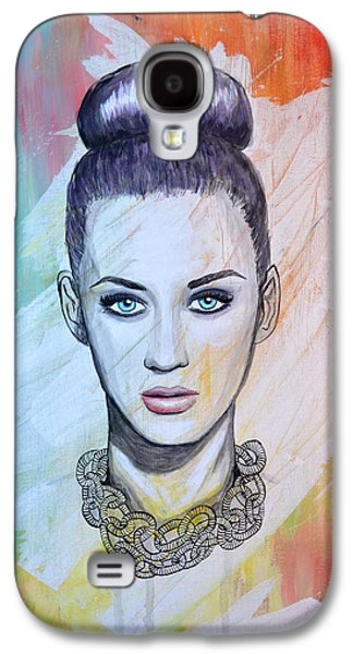 Katy Perry Galaxy S4 Cases - Katy Perry Galaxy S4 Case by Ruth Oosterman