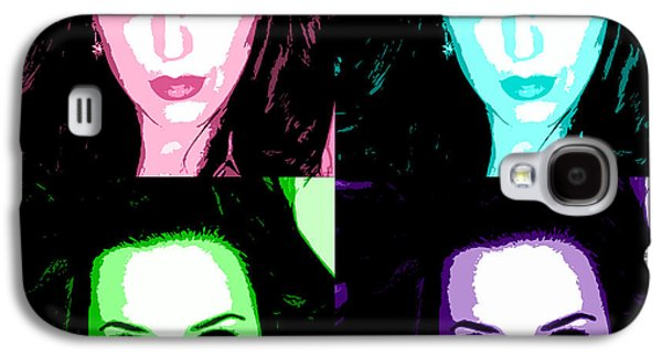 Katy Perry Galaxy S4 Cases - Katy Perry Warhol by GBS Galaxy S4 Case by Anibal Diaz