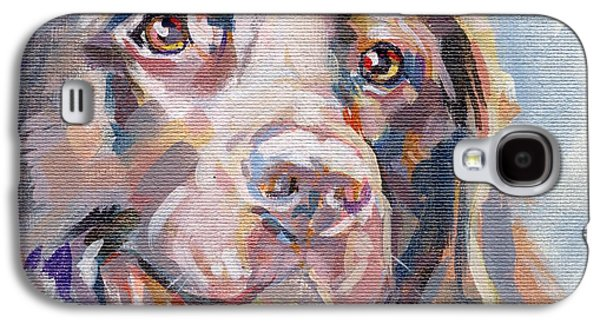 Portraiture Galaxy S4 Cases - Kayla Galaxy S4 Case by Kimberly Santini