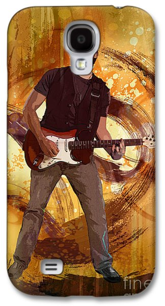 Posters On Mixed Media Galaxy S4 Cases - Keep On Rockin Galaxy S4 Case by Bedros Awak