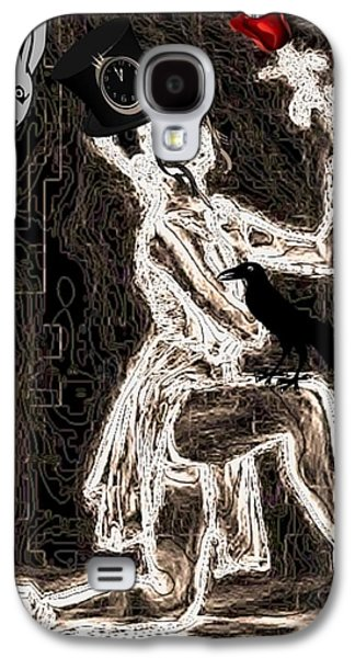 Dance Ballet Roses Galaxy S4 Cases - Keeper of the Crow Love Never Dies Galaxy S4 Case by Tisha McGee