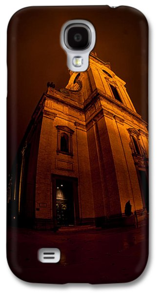 St John The Evangelist Galaxy S4 Cases - Keeping out the Darkness Galaxy S4 Case by Tim Gumz