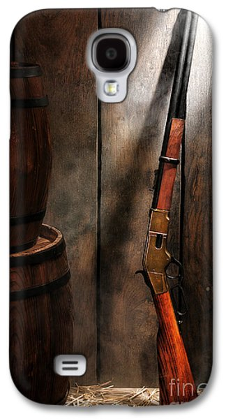 Western Photographs Galaxy S4 Cases - Keeping the Stockroom Galaxy S4 Case by Olivier Le Queinec