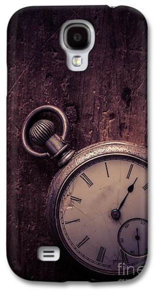 Analog Galaxy S4 Cases - Keeping Time Galaxy S4 Case by Edward Fielding
