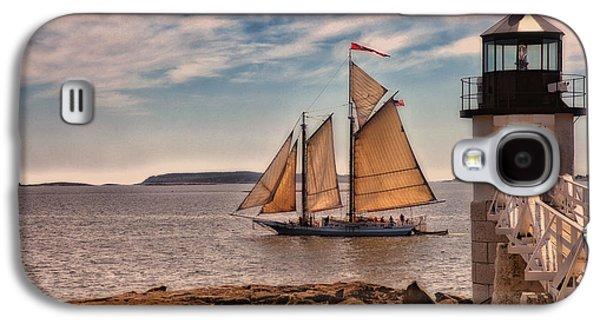 Keeping Vessels Safe Galaxy S4 Case by Karol Livote