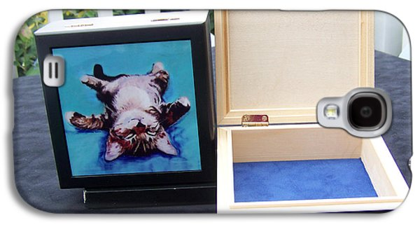 Keepsake Box Galaxy S4 Case by Pat Saunders-White