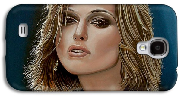 Pride Galaxy S4 Cases - Keira Knightley Galaxy S4 Case by Paul  Meijering