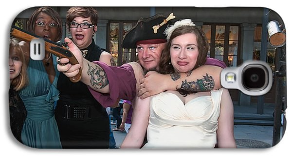 Tankard Galaxy S4 Cases - Keiras Destination Wedding - The Pirate Part Galaxy S4 Case by Kathleen K Parker