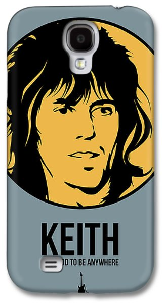Keith Richards Galaxy S4 Cases - Keith Poster 1 Galaxy S4 Case by Naxart Studio
