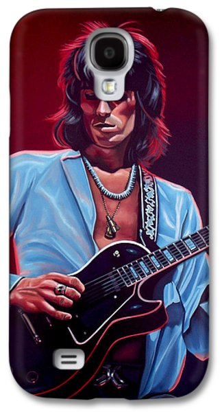 Keith Richards The Riffmaster Galaxy S4 Case by Paul Meijering