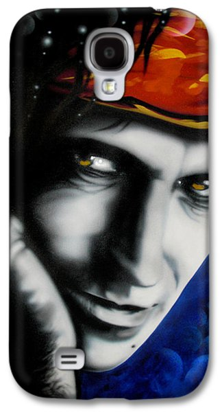 Keith Richards Paintings Galaxy S4 Cases - Keith Richards Galaxy S4 Case by Alicia Hayes