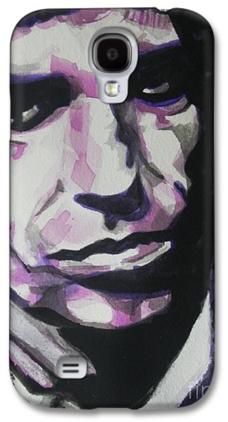 Keith Richards Paintings Galaxy S4 Cases - Keith Richards Galaxy S4 Case by Chrisann Ellis