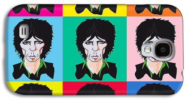 Keith Richards Galaxy S4 Cases - Keith Richards If Your Gonna Galaxy S4 Case by Neil Finnemore