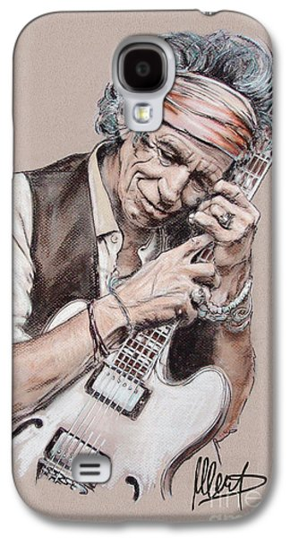 Keith Richards Galaxy S4 Cases - Keith Richards Galaxy S4 Case by Melanie D
