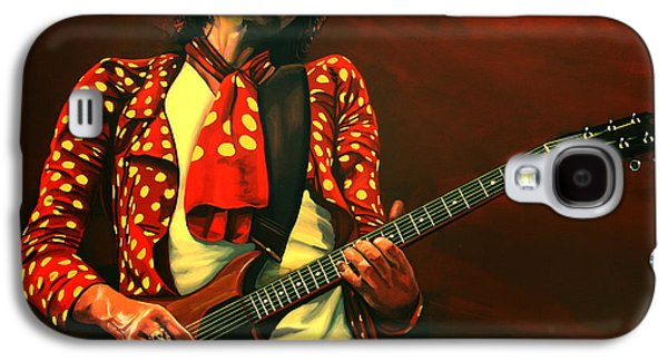 Keith Richards Galaxy S4 Cases - Keith Richards Galaxy S4 Case by Paul Meijering