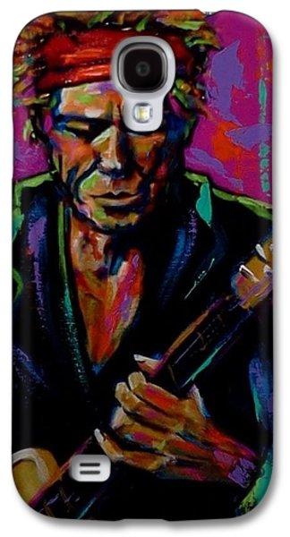 Keith Richards Galaxy S4 Cases - Keith Richards Galaxy S4 Case by Stuart Glazer