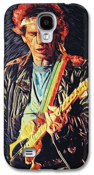 Keith Richards Galaxy S4 Cases - Keith Richards Galaxy S4 Case by Taylan Soyturk