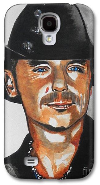 Kenny Chesney  02 Galaxy S4 Case by Chrisann Ellis