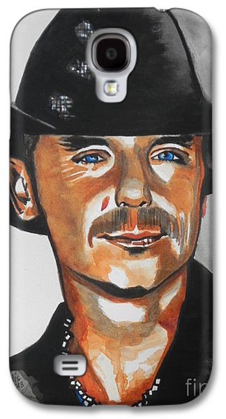 Nashville Tennessee Paintings Galaxy S4 Cases - Kenny Chesney  02 Galaxy S4 Case by Chrisann Ellis