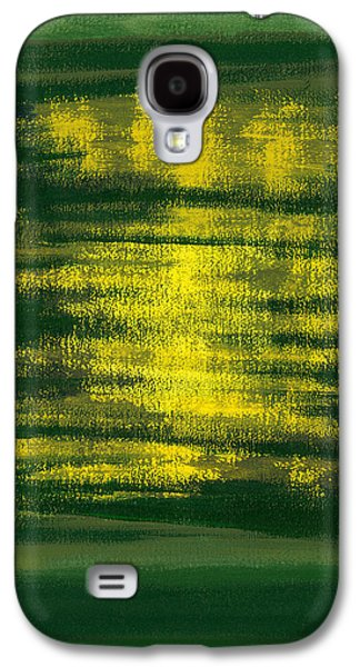 Abstracted Galaxy S4 Cases - Kensington Gardens Series Magic Oil On Canvas Galaxy S4 Case by Izabella Godlewska de Aranda