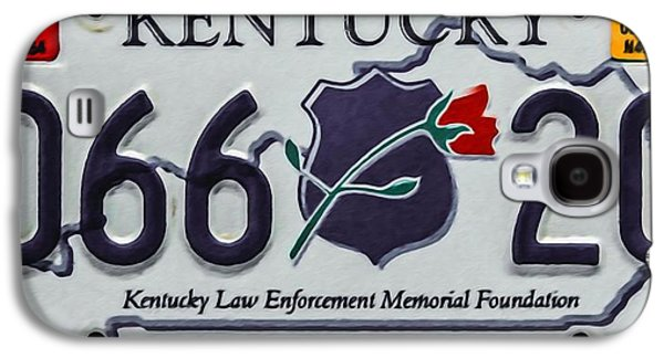 Law Enforcement Paintings Galaxy S4 Cases - Kentucky Law Enforcement Memorial Foundation Galaxy S4 Case by Lanjee Chee