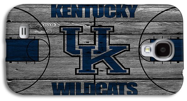 Basketballs Galaxy S4 Cases - Kentucky Wildcats Galaxy S4 Case by Joe Hamilton