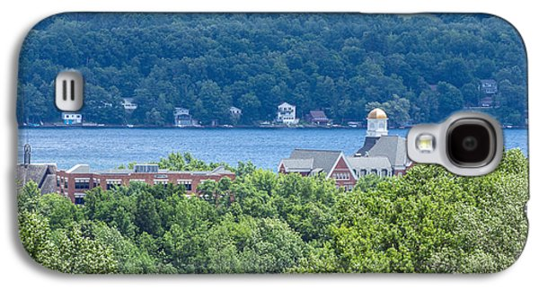 Keuka Galaxy S4 Cases - Keuka College from Above Galaxy S4 Case by Photographic Arts And Design Studio