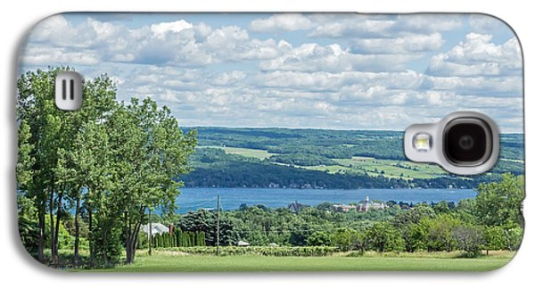 Keuka Galaxy S4 Cases - Keuka Lake and Keuka College Wide Angle Galaxy S4 Case by Photographic Arts And Design Studio