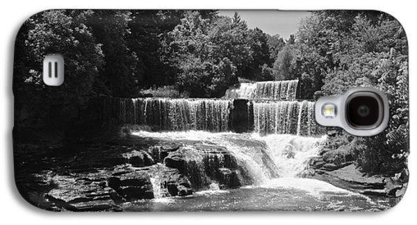 Keuka Galaxy S4 Cases - Keuka Trail Waterfall Galaxy S4 Case by William Norton