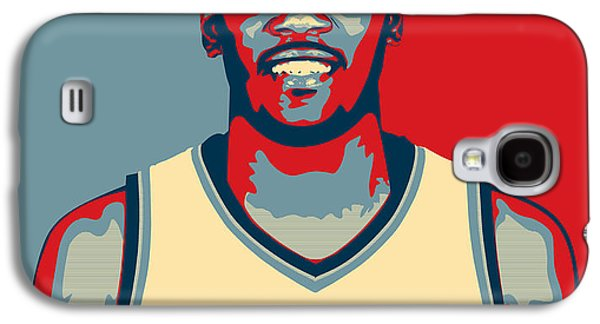 Slam Galaxy S4 Cases - Kevin Durant Galaxy S4 Case by Taylan Soyturk