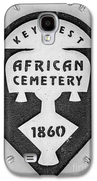 African-americans Photographs Galaxy S4 Cases - Key West African Cemetery 3 - Key West - Black and White Galaxy S4 Case by Ian Monk