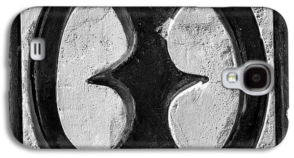 African-american Galaxy S4 Cases - Key West African Cemetery 4 - Key West - Square - Black and Whit Galaxy S4 Case by Ian Monk