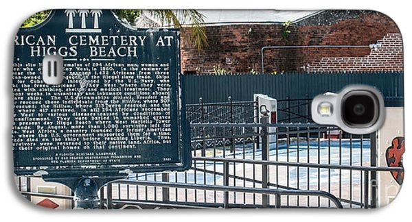 African-americans Photographs Galaxy S4 Cases - Key West African Cemetery 7 - Key West - Panoramic  Galaxy S4 Case by Ian Monk
