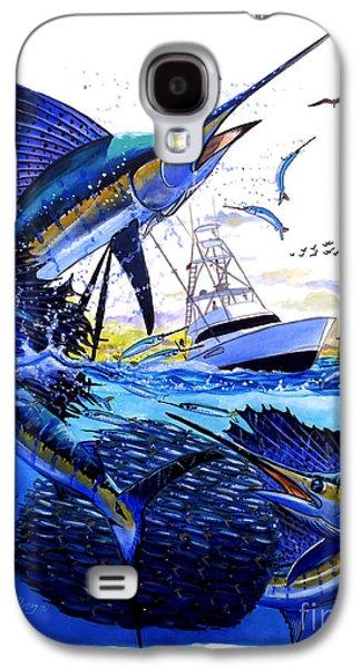 Sportfishing Galaxy S4 Cases - Keys sail Galaxy S4 Case by Carey Chen