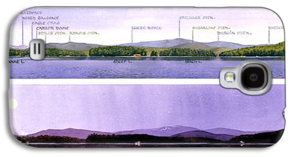 Maine Mountains Galaxy S4 Cases - Kezar Lake View Galaxy S4 Case by Mary Helmreich