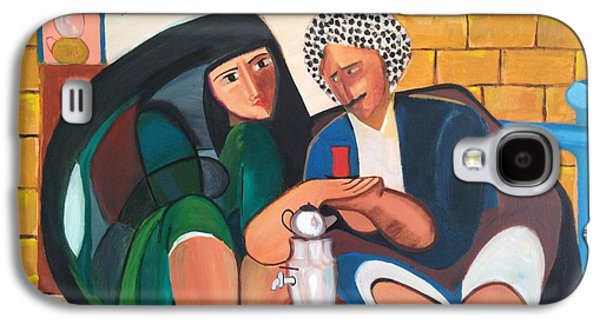 Baghdad Paintings Galaxy S4 Cases - Khadri El Chai Khadri  Galaxy S4 Case by Rami Besancon