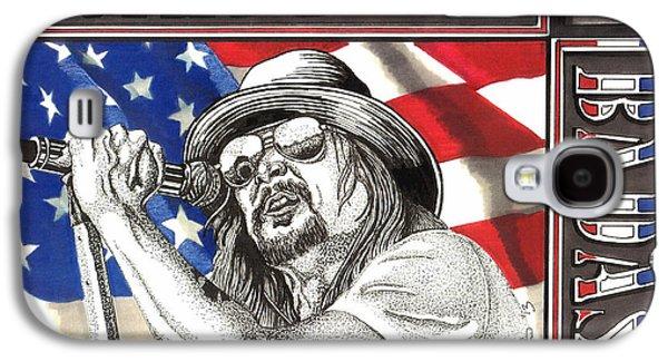 Kid Rock American Badass Galaxy S4 Case by Cory Still