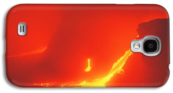 Abstract Nature Galaxy S4 Cases - Kilauea Volcano Hawaii Hi Usa Galaxy S4 Case by Panoramic Images