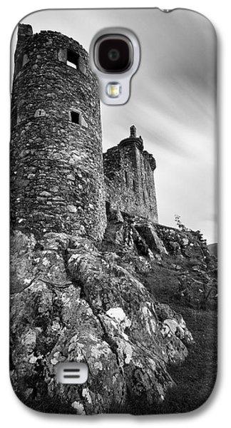 Kilchurn Castle Walls Galaxy S4 Case by Dave Bowman