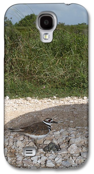 Killdeer Defending Nest Galaxy S4 Case by Gregory G. Dimijian