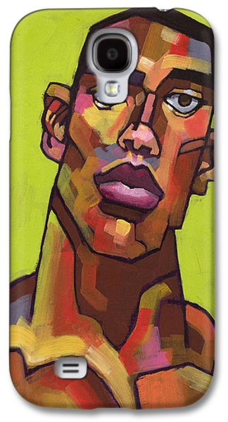 Portrait Paintings Galaxy S4 Cases - Killer Joe Galaxy S4 Case by Douglas Simonson