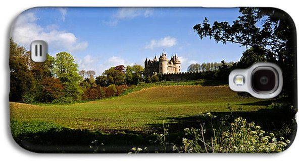 Farmscape Galaxy S4 Cases - Killyleagh Castle, Co Down, Ireland Galaxy S4 Case by Panoramic Images