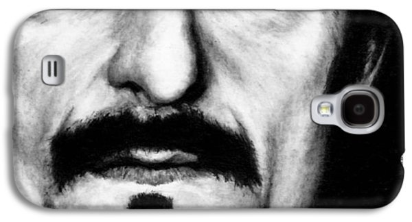 Kim Drawings Galaxy S4 Cases - Kim Coates as Tig Trager Galaxy S4 Case by Rick Fortson
