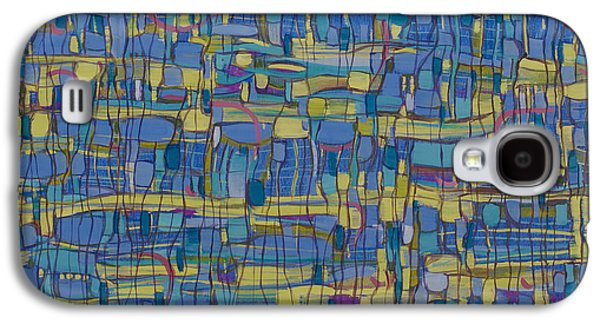 Cellphone Galaxy S4 Cases - Kind of Blue Galaxy S4 Case by Sarah Medway