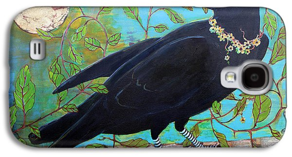 Sun Galaxy S4 Cases - King Crow Galaxy S4 Case by Blenda Studio