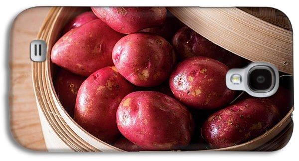 King Edward Potatoes Galaxy S4 Case by Aberration Films Ltd