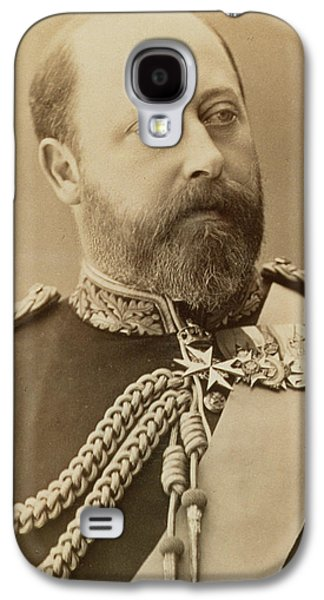 Aristocrat Galaxy S4 Cases - King Edward VII  Galaxy S4 Case by Stanislaus Walery