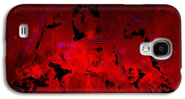 Dwyane Wade Galaxy S4 Cases - King James  Galaxy S4 Case by Brian Reaves