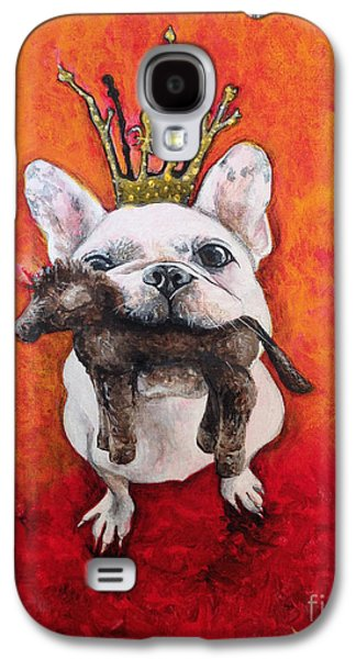 Recently Sold -  - Dogs Digital Galaxy S4 Cases - King LeRoi Galaxy S4 Case by Dori Hartley