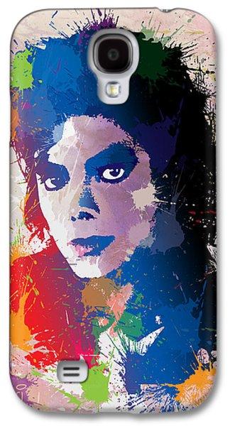 Mj Digital Galaxy S4 Cases - King of Pop Galaxy S4 Case by Anthony Mwangi